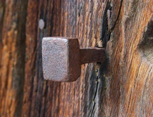 Amuleto de la suerte: los clavos oxidados